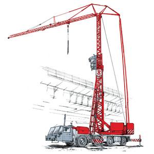 Żuraw wieżowy-samojezdny Spierings SK477-AT4