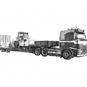 Ciągnik Volvo FH 12